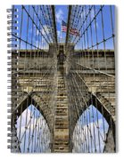 Brooklyn Bridge Ny Spiral Notebook