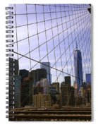 Brooklyn Bridge View Spiral Notebook
