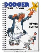Brooklyn Dodgers 1955 Yearbook Spiral Notebook