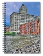 Brooklyn Old Tobacco Warehouse Spiral Notebook