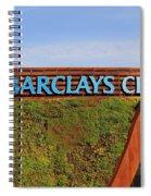 Brooklyn's Barclays Spiral Notebook