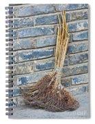Broom, China Spiral Notebook