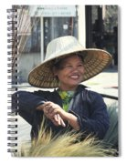Broom Seller  Spiral Notebook