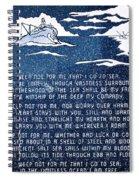 Brotherhood Of The Sea Spiral Notebook