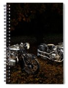 Brough Superior Ss100 And 680 Spiral Notebook