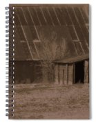 Brown Barns Spiral Notebook