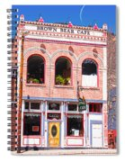 Brown Bear Cafe Silverton Colorado Spiral Notebook