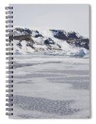 Brown Bluff, Antarctica Spiral Notebook