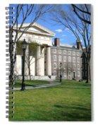 Brown Campus Manning Hall Spiral Notebook