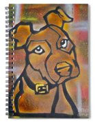 Brown Dog Spiral Notebook