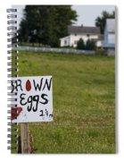 Brown Eggs Spiral Notebook