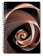 Brown Flirt Spiral Notebook