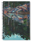 Brown Island Greens Spiral Notebook