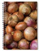 Brown Onions Spiral Notebook