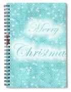 Christmas Card 7 Spiral Notebook