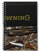 Browning Bps Shotgun  Spiral Notebook