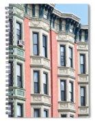 Brownstone Art Hoboken Nj Spiral Notebook