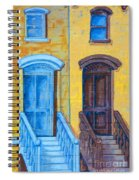 Brownstone Mural Art Spiral Notebook
