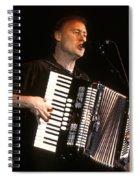 Bruce Hornsby Spiral Notebook