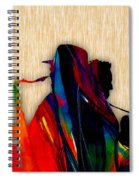 Bruce Springsteen And Clarence Clemons Spiral Notebook
