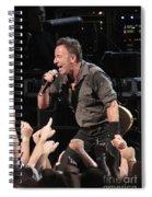 Musician Bruce Springsteen Spiral Notebook