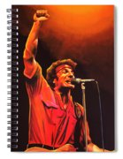 Bruce Springsteen Painting Spiral Notebook