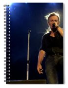 Bruce Springsteen Performing The River At Glastonbury In 2009 - 1 Spiral Notebook