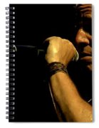 Bruce Springsteen Performing The River At Glastonbury In 2009 - 3 Spiral Notebook