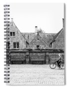 Bruges Cyclist Spiral Notebook