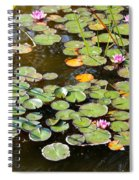 Bruges Lily Pond Spiral Notebook