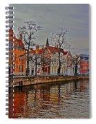 Bruggas Morning Spiral Notebook
