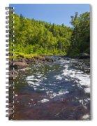 Brule River 1 Spiral Notebook