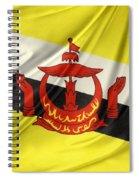 Brunei Flag Spiral Notebook