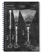 Brush Patent 006 Spiral Notebook
