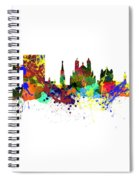 Brussels  Belgium  Europe  Spiral Notebook