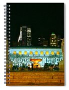 Bryant Park Horses Spiral Notebook