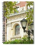 Bryant Park  Spiral Notebook