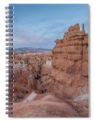 Bryce Amphitheater Fisheye View Spiral Notebook