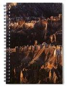 Bryce Canyon National Park Hoodo Monoliths Sunrise Southern Utah Spiral Notebook