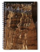 Bryce Canyon National Park Hoodo Monoliths Sunset From Sunrise P Spiral Notebook