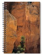 Bryce Canyon National Park Hoodo Monoliths Sunset From Sunset Po Spiral Notebook