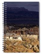 Bryce Canyon National Park Hoodo Monoliths Sunset Southern Utah  Spiral Notebook