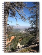 Bryce Canyon Overlook With Dead Trees Spiral Notebook