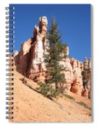 Bryce Canyon Red Fins Spiral Notebook