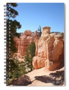 Bryce Canyon  Red Rocks Spiral Notebook