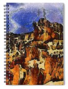 Bryce Canyon Thuderstorm Spiral Notebook