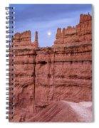 Bryce Moon Rising Spiral Notebook