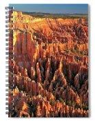 Bryce Morning Lights Spiral Notebook