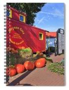 Bryson City North Carolina In The Fall Spiral Notebook