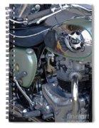 Bsa Motorcycle Spiral Notebook